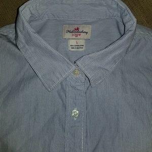 J. Crew Factory Striped Classic Haberdashery Shirt